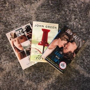Three books (John Green) and If I Stay